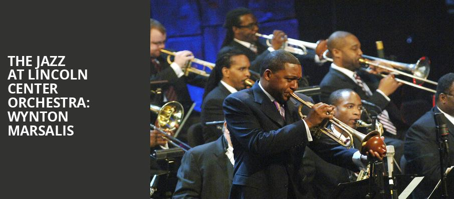 The Jazz at Lincoln Center Orchestra Wynton Marsalis, Zellerbach Hall, San Francisco