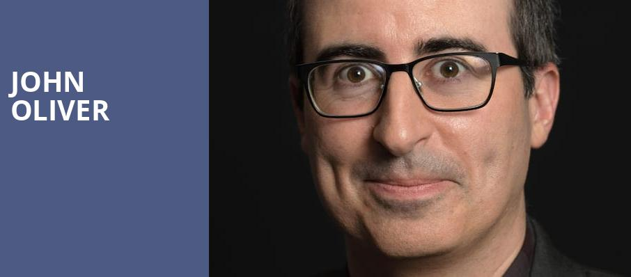 John Oliver, Nob Hill Masonic Center, San Francisco