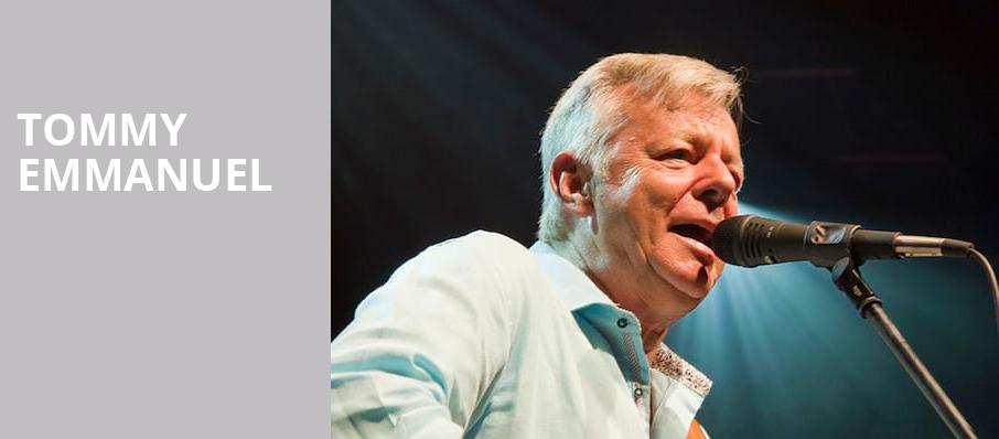Tommy Emmanuel, Great American Music Hall , San Francisco