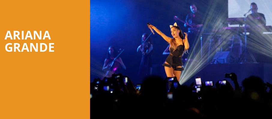 Ariana Grande, Chase Center, San Francisco