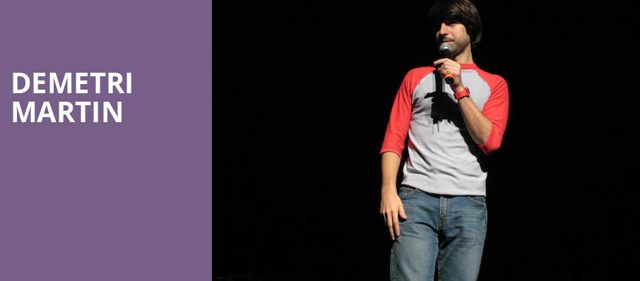 Demetri Martin, Nob Hill Masonic Center, San Francisco