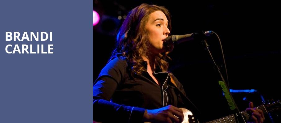 Brandi Carlile, Nob Hill Masonic Center, San Francisco