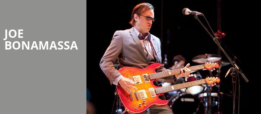 Joe Bonamassa, The Warfield, San Francisco
