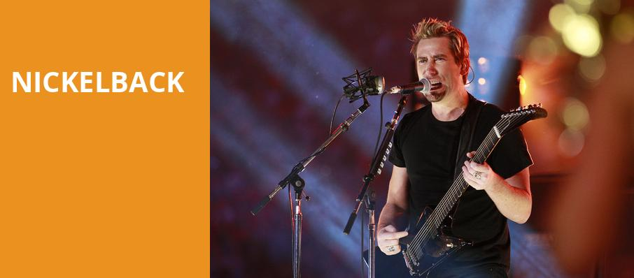 Nickelback, Shoreline Amphitheatre, San Francisco