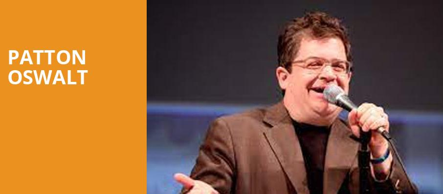 Patton Oswalt, Nob Hill Masonic Center, San Francisco