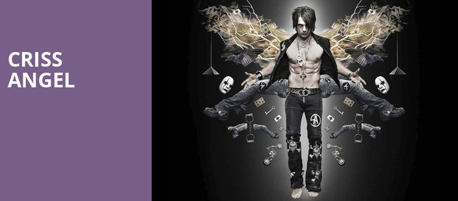 Criss Angel, The Warfield, San Francisco