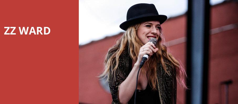 ZZ Ward, The Independent, San Francisco