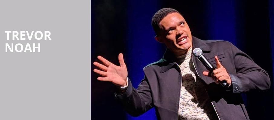 Trevor Noah, Ruth Finley Person Theater, San Francisco