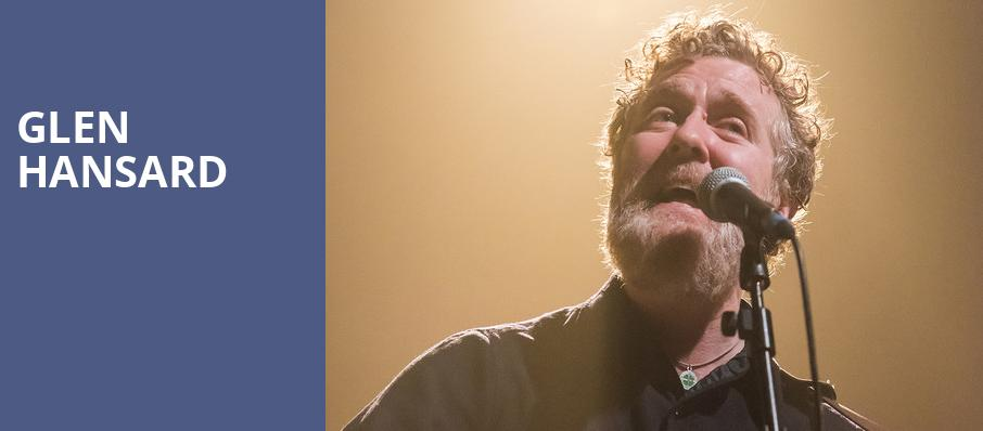 Glen Hansard, Nob Hill Masonic Center, San Francisco