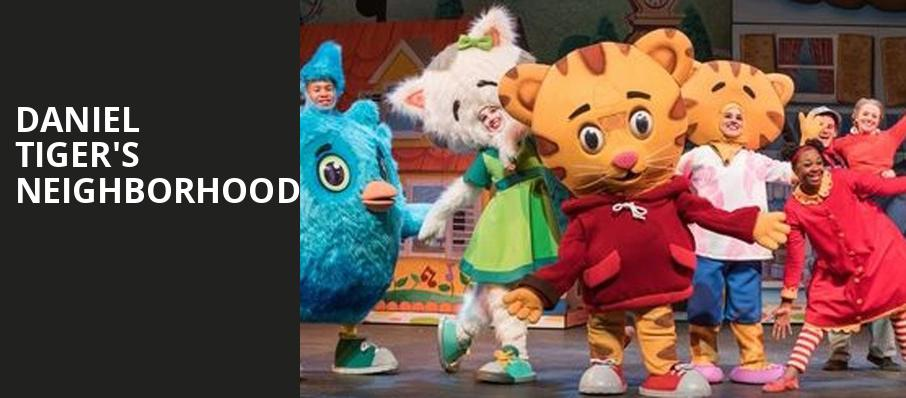 Daniel Tigers Neighborhood, Orpheum Theatre, San Francisco