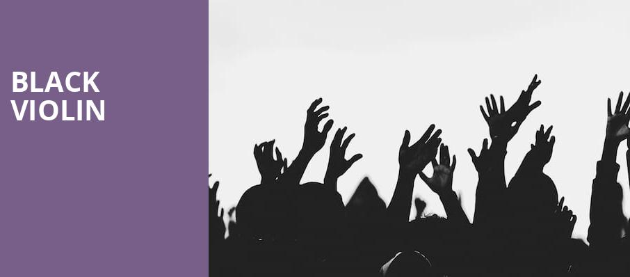 Black Violin, Ruth Finley Person Theater, San Francisco