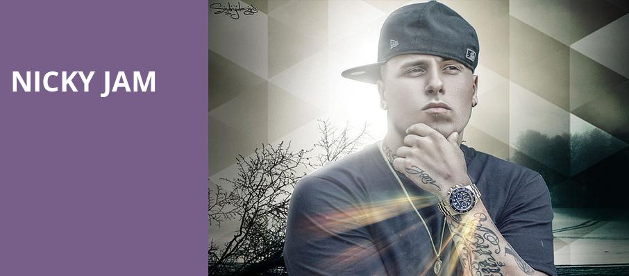 Nicky Jam, Bill Graham Civic Auditorium, San Francisco
