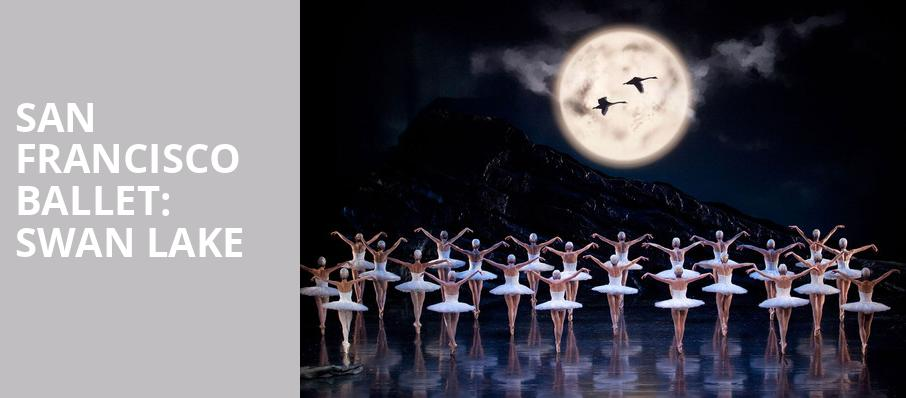 San Francisco Ballet Swan Lake, War Memorial Opera House, San Francisco