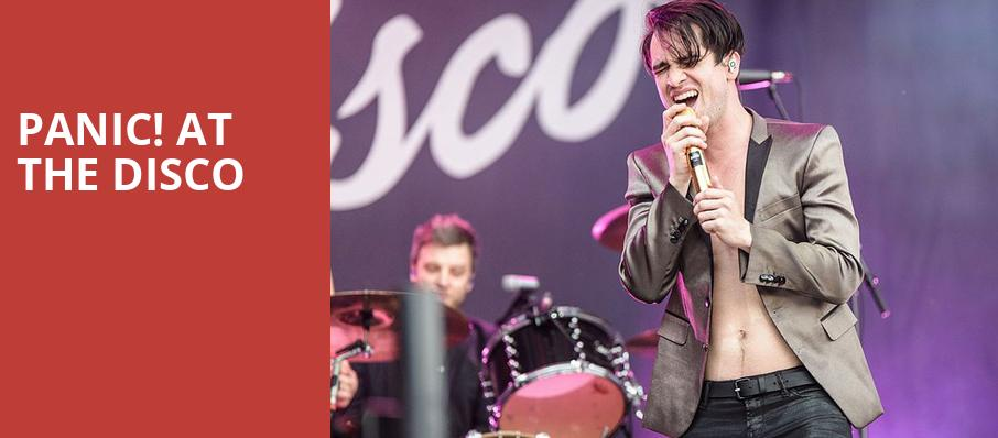 Panic at the Disco, Oracle Arena, San Francisco