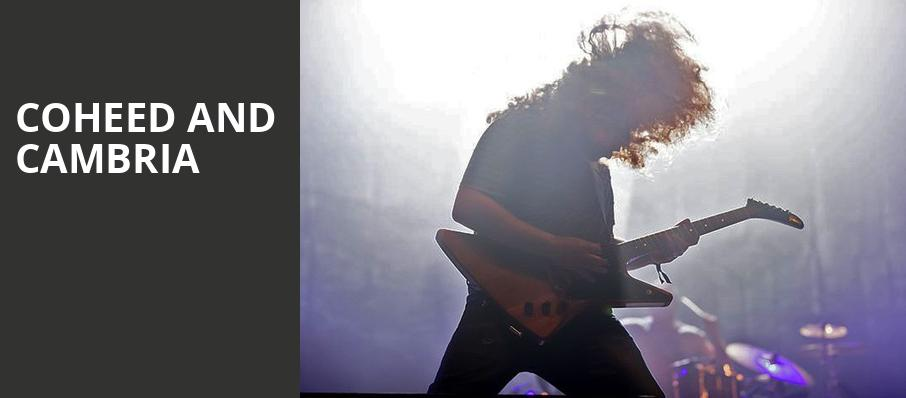 Coheed and Cambria, The Greek Theatre Berkley, San Francisco
