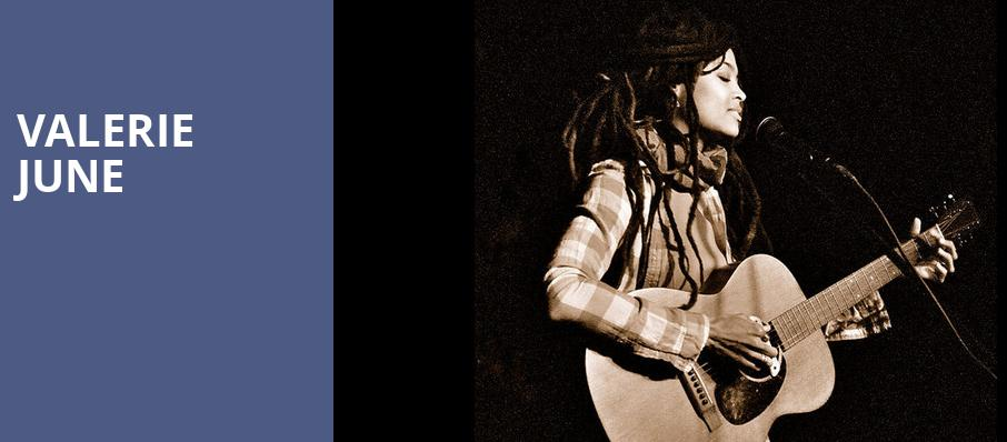 Valerie June, Great American Music Hall , San Francisco