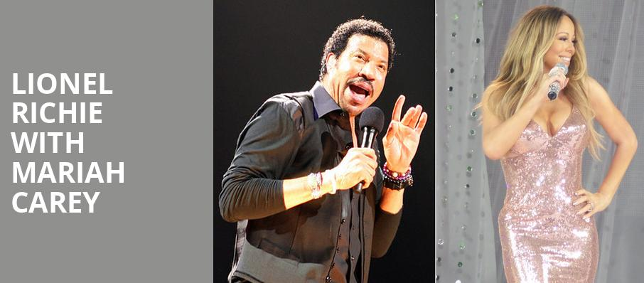Lionel Richie with Mariah Carey, Oracle Arena, San Francisco