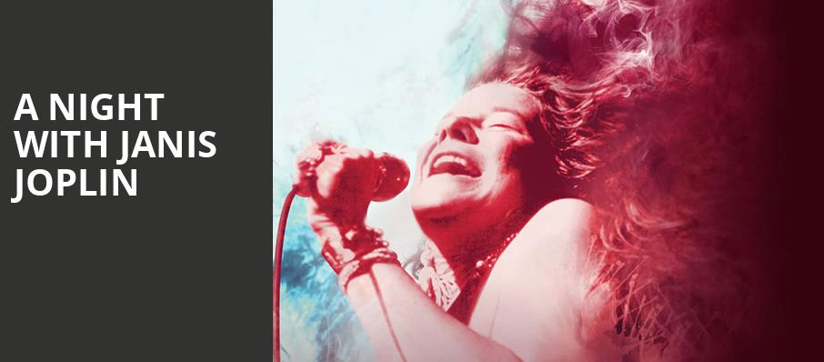 A Night With Janis Joplin, ACT Geary Theatre, San Francisco