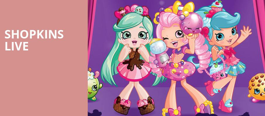 Shopkins Live, Ruth Finley Person Theater, San Francisco
