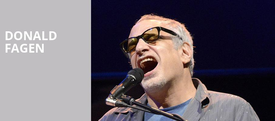 Donald Fagen, Nob Hill Masonic Center, San Francisco