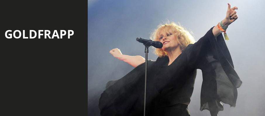 Goldfrapp, The Warfield, San Francisco
