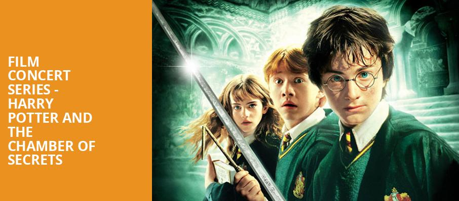 Film Concert Series Harry Potter and The Chamber of Secrets, Davies Symphony Hall, San Francisco