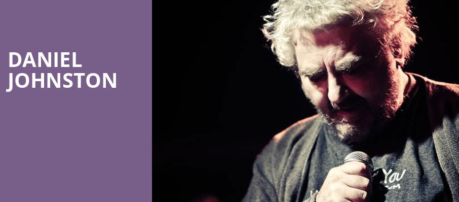 Daniel Johnston, Herbst Theater, San Francisco