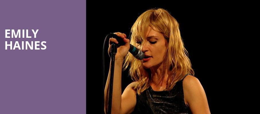 Emily Haines, Great American Music Hall , San Francisco