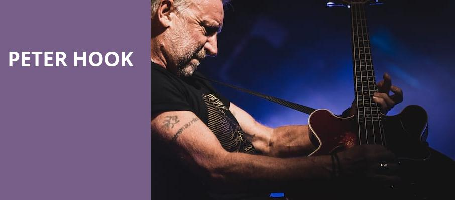 Peter Hook, The Fillmore, San Francisco