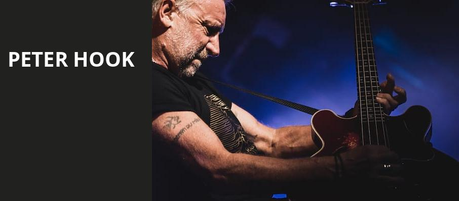 Peter Hook, The Warfield, San Francisco
