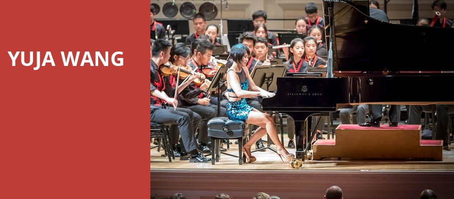 Yuja Wang, Davies Symphony Hall, San Francisco