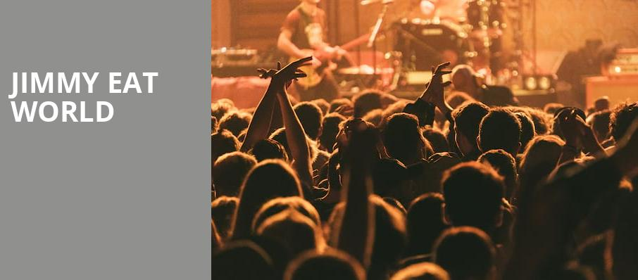 Jimmy Eat World, Jam Cellars Ballroom, San Francisco
