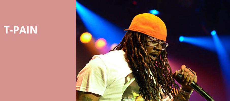 T Pain, The Warfield, San Francisco