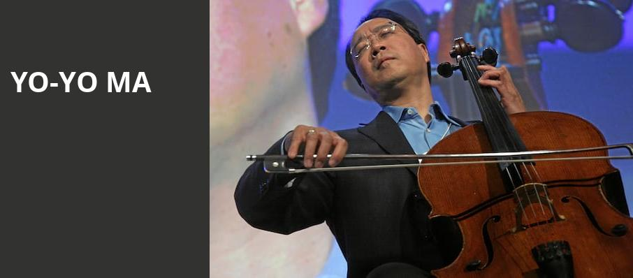 Yo Yo Ma, The Greek Theatre Berkley, San Francisco