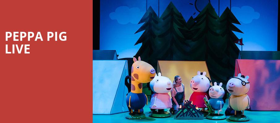 Peppa Pig Live, Ruth Finley Person Theater, San Francisco