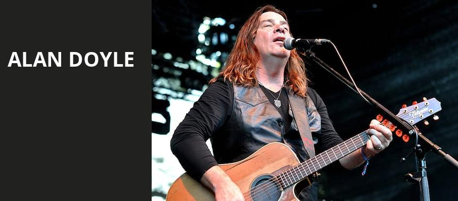 Alan Doyle, Great American Music Hall, San Francisco