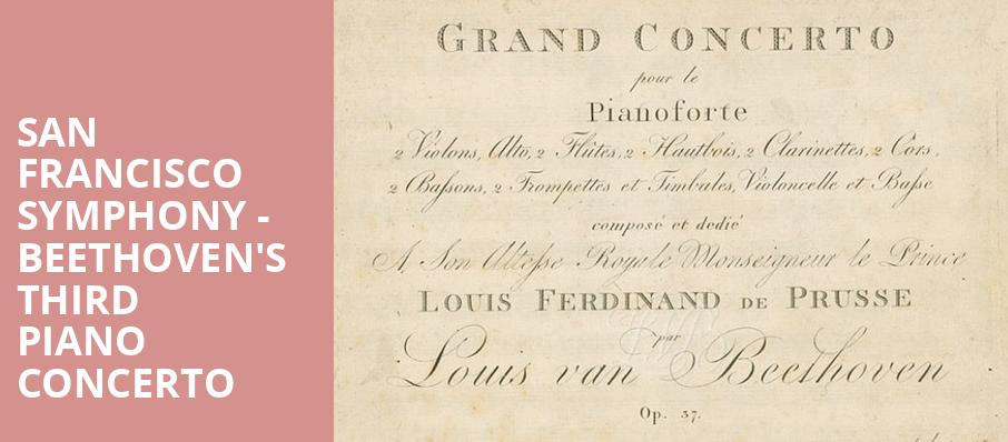 san francisco symphony beethoven s third piano concerto davies