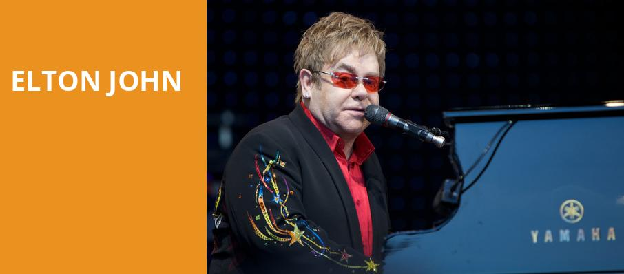 Elton John, Oracle Arena, San Francisco