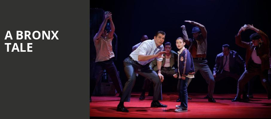 A Bronx Tale, Golden Gate Theatre, San Francisco