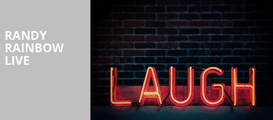 Randy Rainbow Live, Ruth Finley Person Theater, San Francisco