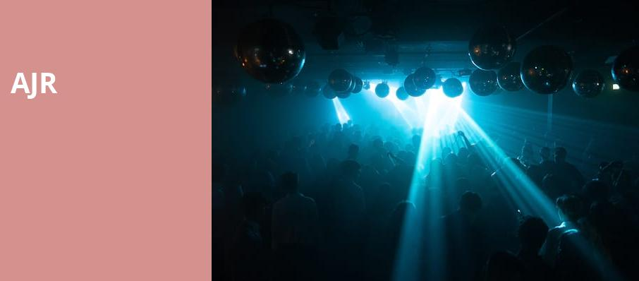 AJR, Bill Graham Civic Auditorium, San Francisco