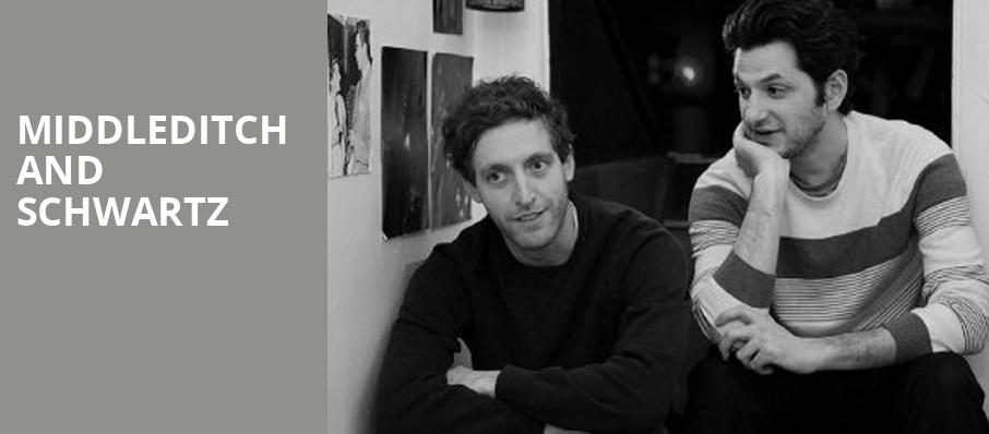 Middleditch and Schwartz, Nourse Theatre, San Francisco