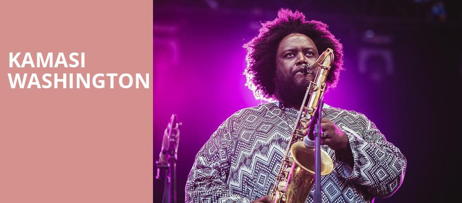 Kamasi Washington, The Warfield, San Francisco