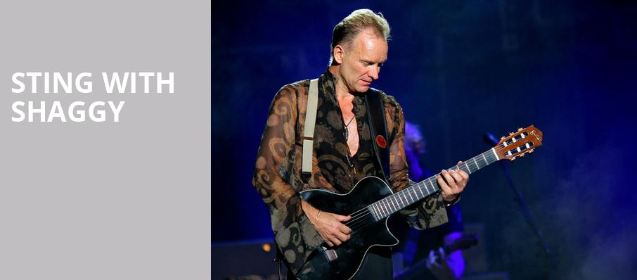 Sting with Shaggy, Nob Hill Masonic Center, San Francisco