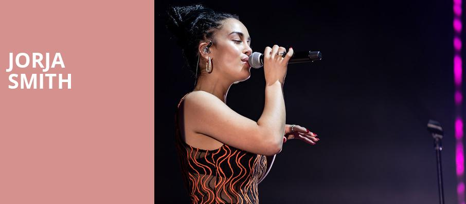 Jorja Smith, The Warfield, San Francisco