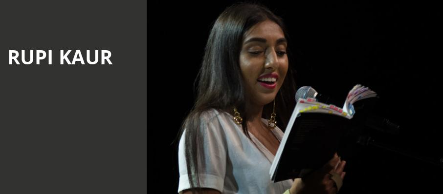 Rupi Kaur, Nob Hill Masonic Center, San Francisco