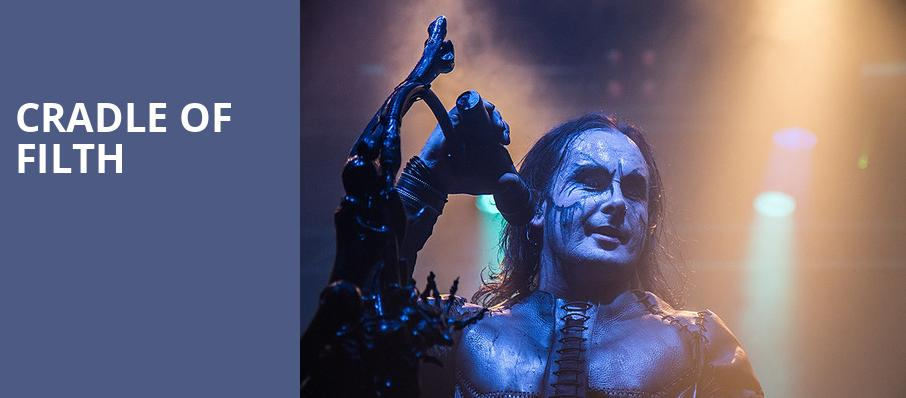Cradle of Filth, The Fillmore, San Francisco