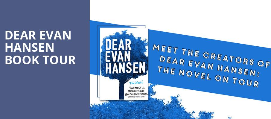 Dear Evan Hansen Book Tour, McNears Mystic Theatre, San Francisco