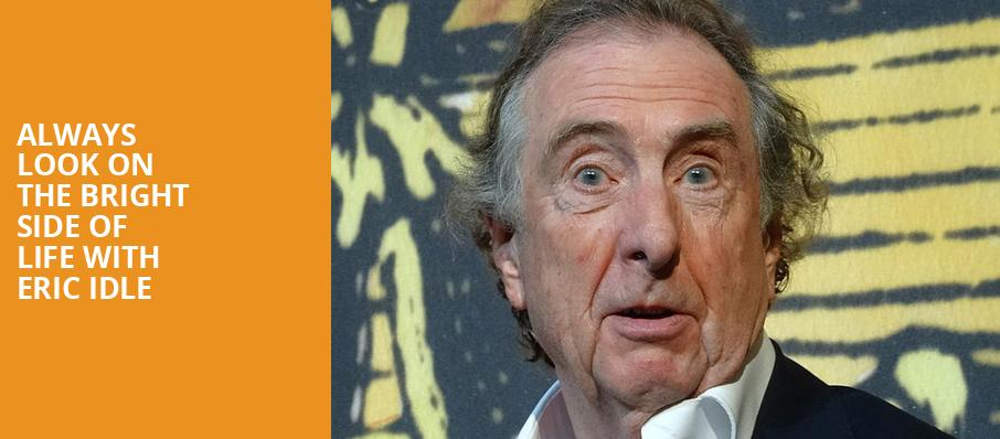 Always Look On The Bright Side Of Life With Eric Idle, Curran Theatre, San Francisco