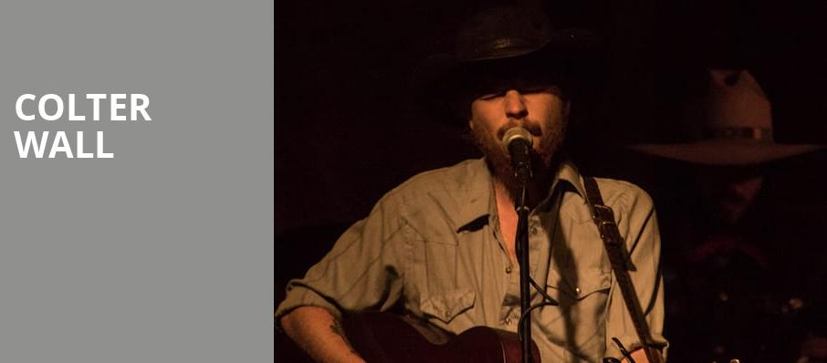 Colter Wall, Great American Music Hall, San Francisco